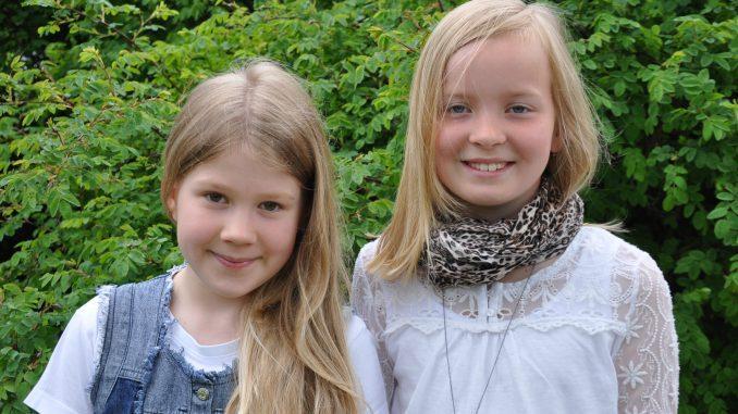Liza-Elmina Arvidsson ja Emma Vahtola