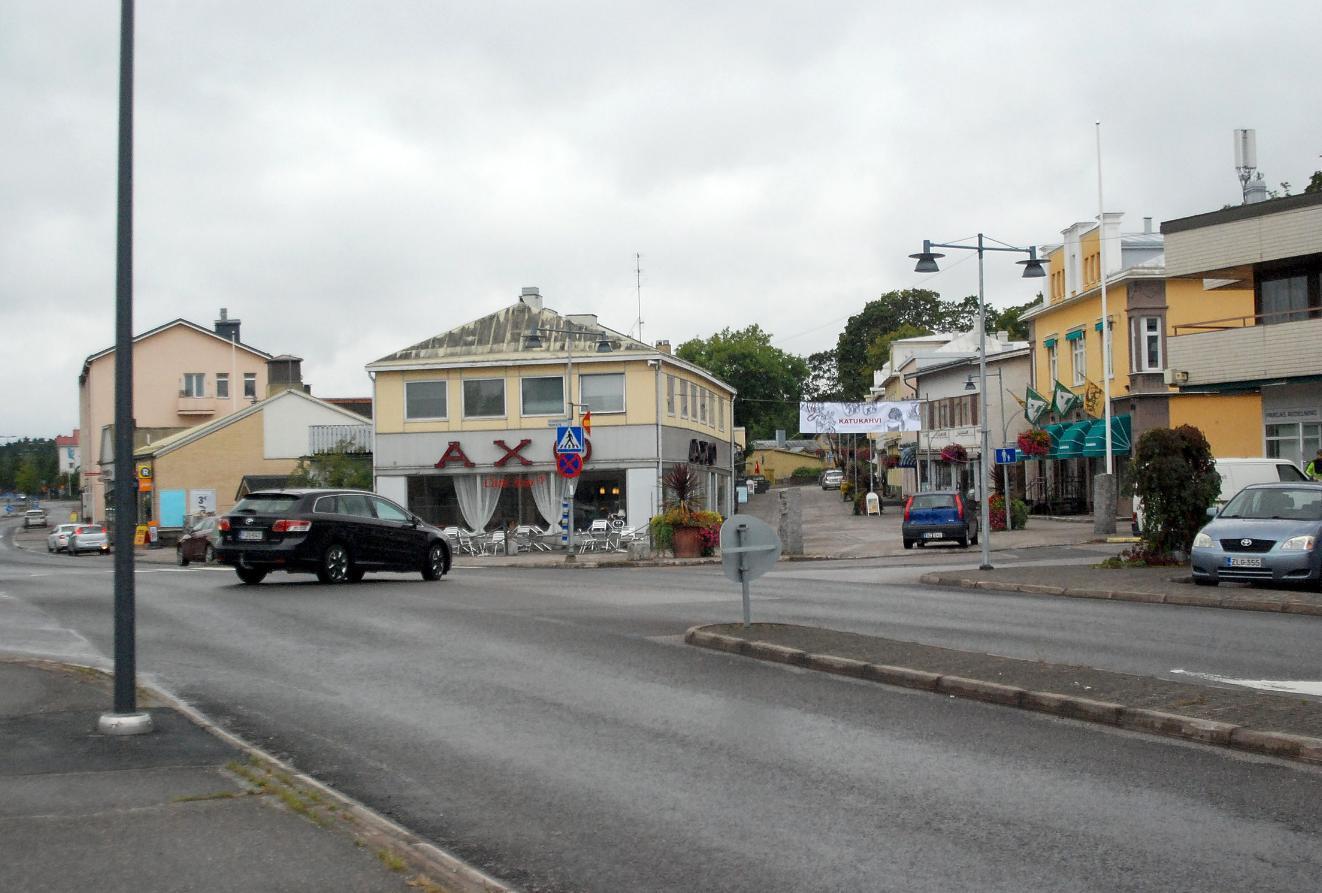 Pargas centrum